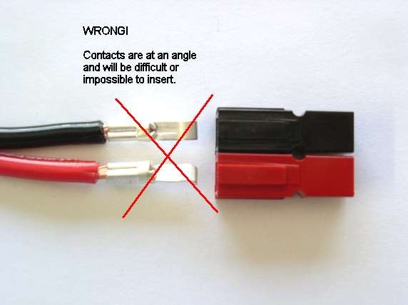 anderson plug assembly instructions