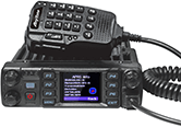 Anytone AT-D578UV III Plus Tri-Band DMR Mobile Radio with Bluetooth and GPS