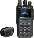 Anytone AT-D878UV Digital DMR Dual-band Handheld Commercial Radio with GPS and Bluetooth