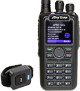 Anytone AT-D878UVII Plus Digital DMR Dual-band Handheld Commercial Radio APRS RX/TX and Bluetooth