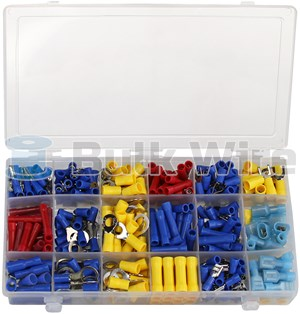 Picture of 360 Piece Terminal Connector Assortment Box by Powerwerx