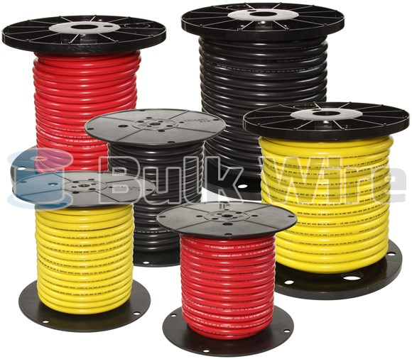 Picture of Ancor 114940 Tinned Battery Cable (Gauge: 2, Length: 400 ft., Color: Yellow)