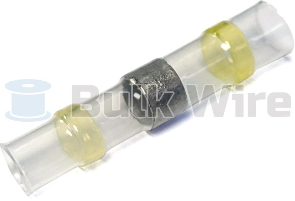 Picture of Heat Shrink Solder Sleeve, 12-10 AWG, Clear/Yellow
