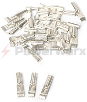 Picture of 1332-BK Anderson Power PP15 Powerpole Connector Contact, 16-20 GA, 15A, Loose Piece