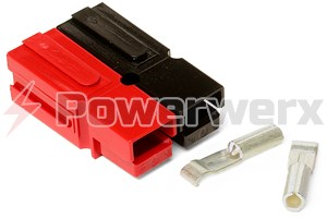 Picture of 15 Amp Permanently Bonded Red/Black Anderson Powerpole Connectors