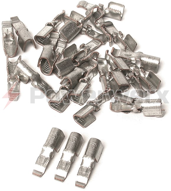 Picture of 261G2-LPBK Anderson Power PP45 Powerpole Connector Contact, 10 GA, 45A, Loose Piece