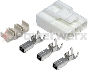 Picture of 3 pin Power connector for VHF/UHF Power cords – New Style