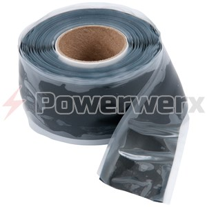 "Picture of Ancor 341010 Black Repair Tape 1"" x 10'"