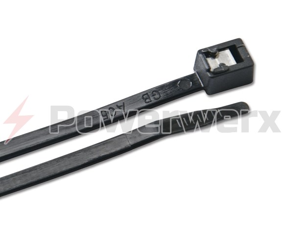 "Picture of Ancor UV Black 8"", 11"", 14"" Self Cutting Cable Ties"