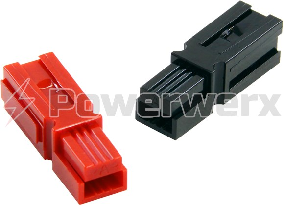 Picture of Anderson Power 1327FP Fingerproof Connector Housing, Red