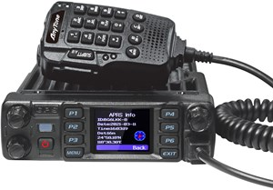 Picture of Anytone AT-D578UV III Plus DMR Tri-band Amateur Mobile Radio, AM Aircraft Rx with GPS and Bluetooth
