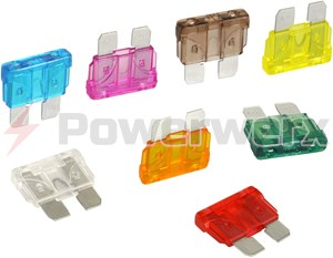 Picture of ATO/ATC Blade Type Fuses