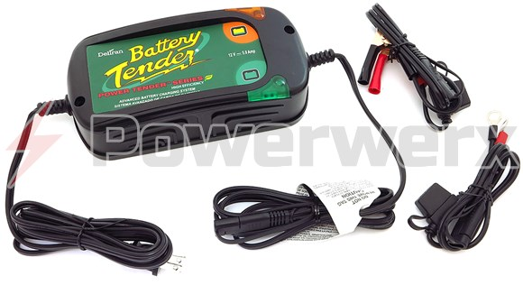Picture of Battery Tender 022-0186G-DL-WH Power Tender Plus Battery Charger/Maintainer 12V @ 5A