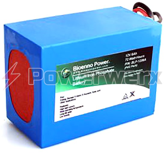 Picture of Bioenno BLF-1206A 12V, 6Ah Lithium Iron Phosphate (LiFePO4) Battery, PVC