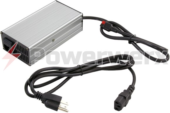 Picture of Bioenno Power BPC-1510A 14.6V, 10A, AC-to-DC Charger with Anderson Powerpole Connector for 12V LiFePO4 Batteries