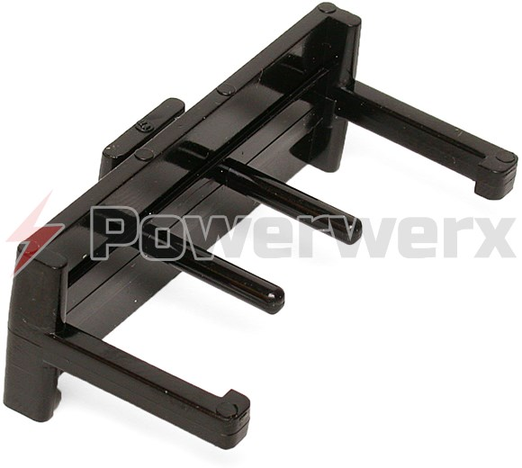 Picture of BLOK-LOK Clamp for 4 Sets of Powerpole Connectors