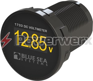 Picture of Blue Sea 1733 Mini OLED Panel DC Voltmeter
