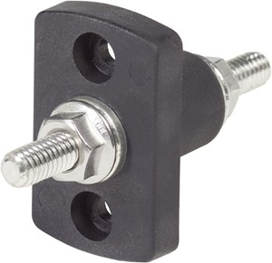 "Picture of Blue Sea 2201-BSS Terminal Feed Through Connector – 5/16"" – 18 Studs (Black Color)"
