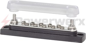 Picture of Blue Sea 2300 Common 150A BusBar 10 Gang with Cover