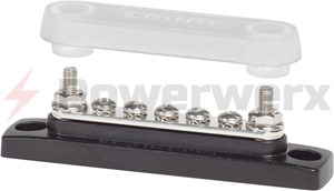 Picture of Blue Sea 2314 Common 100A Mini BusBar 5 Gang with Cover
