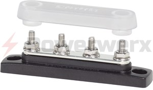 Picture of Blue Sea 2315 Common 100A Mini BusBar 4 Gang with Cover