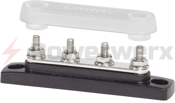 Blue Sea 2315 Common 100a Mini Busbar 4 Gang With Cover