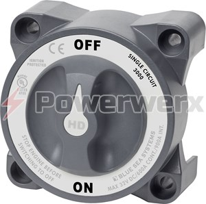 Picture of Blue Sea 3000 Heavy Duty ON/OFF Battery Switch (600A/900A)