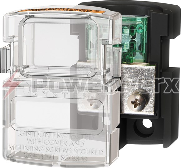 Picture of Blue Sea 5006100 MAXI Fuse Block 80A