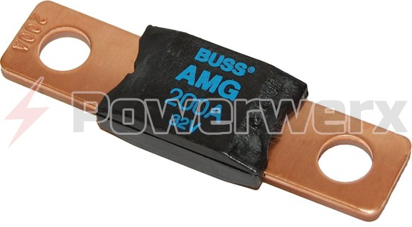 Picture of Blue Sea 5105 MEGA AMG Fuse 200 Amp