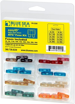 Picture of Blue Sea 5290 easyID ATC Fuse Kit