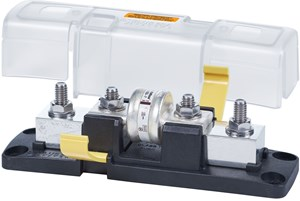 Picture of Blue Sea 5502100 Class T Fuse Block with Insulating Cover, Ignition Protected 225 to 400A