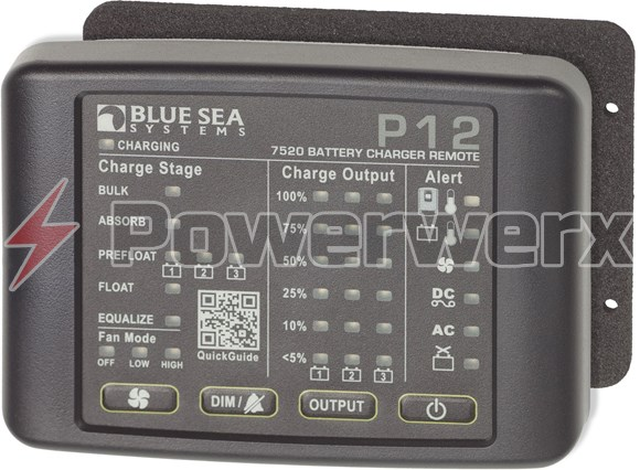 Picture of Blue Sea 7520 P12 Battery Charger Remote LED