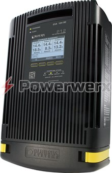 Picture of Blue Sea 7521 P12 Battery Charger Three Bank 12V DC 25A