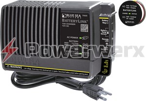 Picture of Blue Sea 7605 BatteryLink 10A Charger 65A ACR