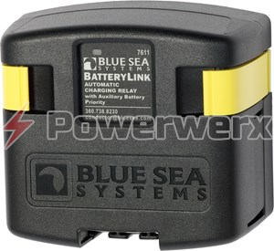 Picture of Blue Sea 7611 DC BatteryLink Automatic Charging Relay 120 Amp