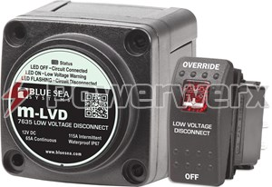 Picture of Blue Sea 7635 m-LVD Low Voltage Disconnect