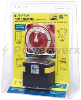 Picture of Blue Sea 7650 Add-A-Battery Kit 120A