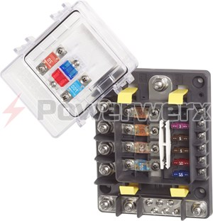 Picture of Blue Sea 7748 SafetyHub 150 Fuse Block