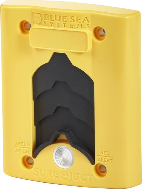 Picture of Blue Sea 7820 Sure Eject Cover Plate Yellow