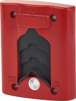 Picture of Blue Sea 7821 Sure Eject Cover Plate Red