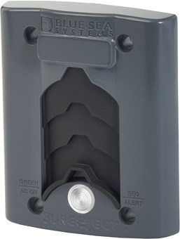 Picture of Blue Sea 7825 Sure Eject Cover Plate Gray