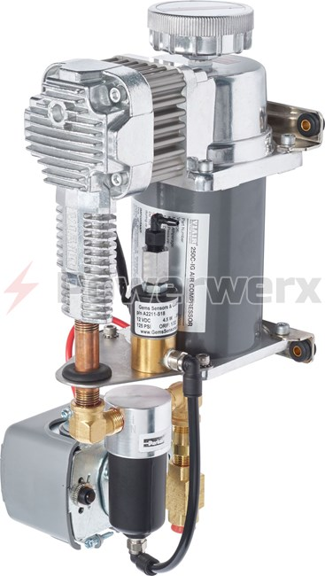 Picture of Blue Sea 7921 Air Brake Compressor Vertical Mount