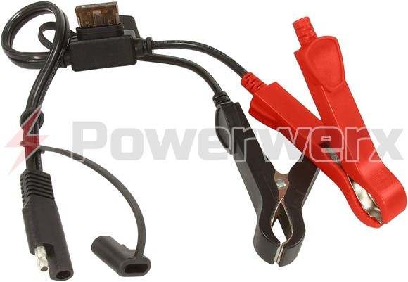 Picture of Bullet/SAE to Alligator Clips Accessory for Power Tender Plus