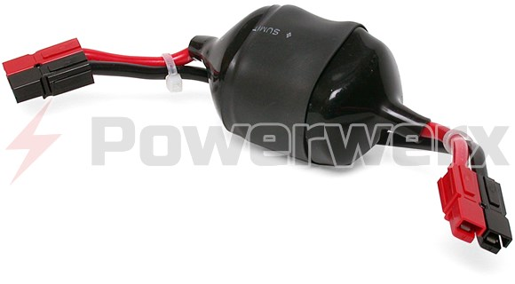 Picture of DC Line Noise Filter (20 Amps max) with Powerpole connectors