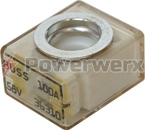 Picture of EATON's Bussman CBBF/MRBF Battery Terminal Series Fuses 50A to 300A