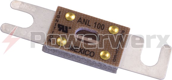 Picture of EATON's Bussmann Series ANL-100 ANL Low Voltage Limiter Fuse, 100A, 32VAC