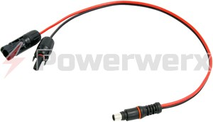 Picture of Goal Zero 98015 8mm to MC4 Solar Connector Adapter Cable by Powerwerx