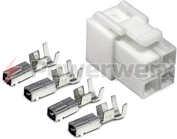 Picture of HF 4 pin Power connector for HF Power cords