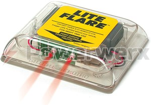 Picture of Lite Flare is a compact electronic LED signaling device