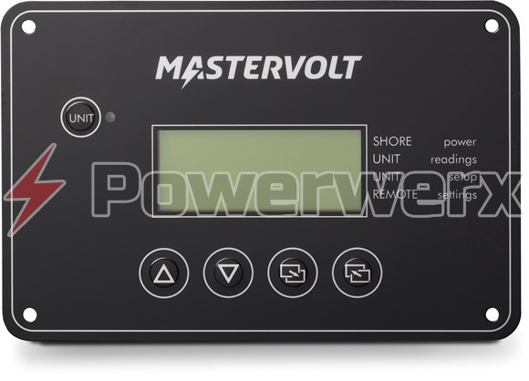 Picture of MasterVolt 77010700 PowerCombi Remote Control LCD Panel